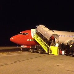 Photo taken at Umeå Airport (UME) by Jonny S. on 10/28/2012