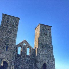 Photo taken at Reculver Towers and Roman Fort by Ian C. on 3/16/2014