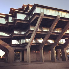 Photo taken at Geisel Library by Christian M. on 12/21/2012