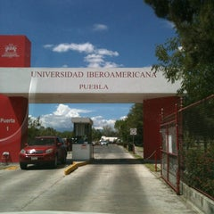 Photo taken at Universidad Iberoamericana Puebla by Ma Alejandra L. on 10/6/2012