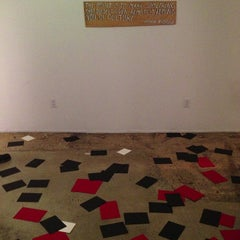Photo taken at Glass House Gallery by Adjua G. on 10/26/2012