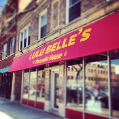 Photo taken at Lulu Belle's Pancake House by Aislinn H. on 4/7/2013