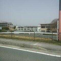 Photo taken at 建設技術50周年記念碑 by GATTACA on 3/19/2013