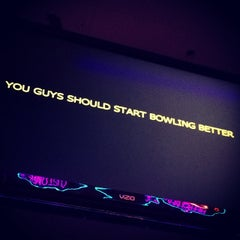 Photo taken at Valencia Lanes by Hunter G. on 11/15/2013