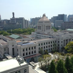 Photo taken at 参議院 by Sho S. on 4/29/2013