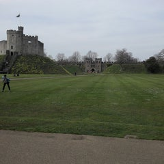 Photo taken at Caldicot Castle by Alex S. on 3/29/2014