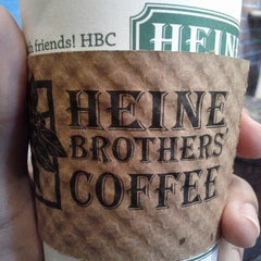 Photo taken at Heine Brothers Coffee by Michael J. on 9/26/2012