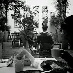 Photo taken at America del Sur Hostel by Denis C. on 10/12/2012