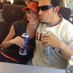 Photo taken at Broadway Caltrain Station by Laura F. on 7/20/2013