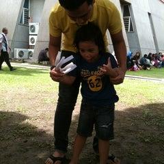 Photo taken at Dataran Panggung Seni UKM by Suzyana J. on 10/20/2012