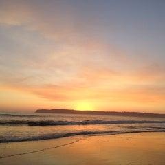 Photo taken at Coronado Beach by Oana M. on 9/30/2012