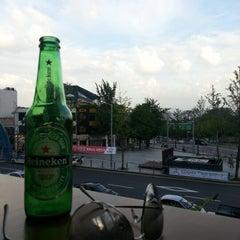 Photo taken at Berlin Cafe & Lounge by Brandon S. on 9/18/2012