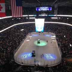 Photo taken at Amalie Arena by Tony P. on 4/12/2013