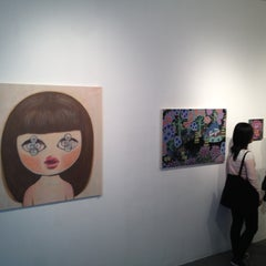 Photo taken at Gallery 128 by Marina S. on 9/28/2012