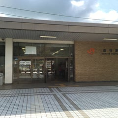 Photo taken at 金谷駅 (Kanaya Sta.) by mo 1. on 4/22/2016