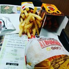 Photo taken at Burger King by pxkw on 11/26/2015