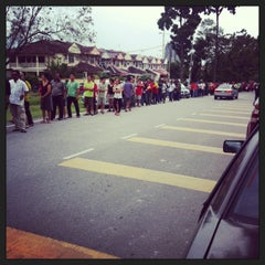 Photo taken at SMK Bandar Puchong Jaya (A) by Bitter on 2/21/2013