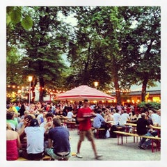 Photo taken at Pratergarten by Max G. on 7/27/2013