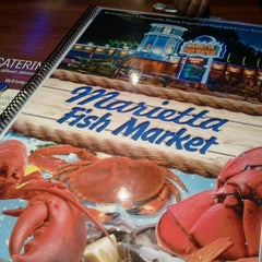 Photo taken at Marietta Fish Market by Terésa D. on 10/21/2012