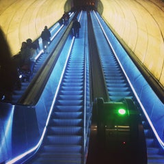 Photo taken at Dupont Circle Metro Station by Loose F. on 1/21/2013