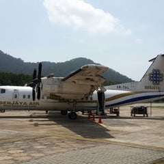 Photo taken at Redang Island Airport (RDN) by Ahmad Nazaril A. on 1/19/2014