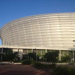 Photo taken at Cape Town Stadium by Svetlana G. on 12/28/2012