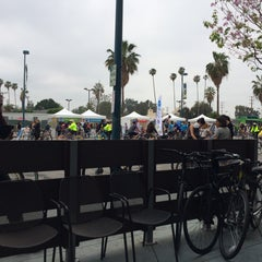 Photo taken at Daphne's California Greek by Justin P. on 3/22/2015