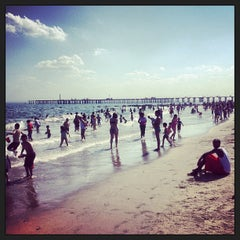 Photo taken at Coney Island Beach & Boardwalk by Jay R. on 6/1/2013