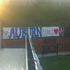 Photo taken at Duck Samford Stadium by Michael T. on 10/5/2012