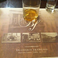 Photo taken at Brasserie François by Patrice B. on 4/22/2013