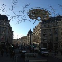 Photo taken at Oxford Circus by patralak on 11/2/2012