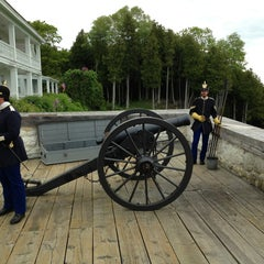 Photo taken at Fort Mackinac by Adam A. on 6/15/2013