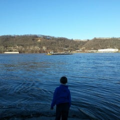 Photo taken at Anderson Ferry by Jon S. on 1/19/2013