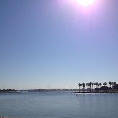 Photo taken at Bahia Resort Hotel - San Diego by Alex R. on 10/1/2012