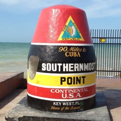 Photo taken at Southernmost Point Continental USA by Mr. J on 4/13/2013