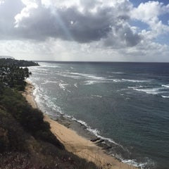 Photo taken at Diamond Head Scenic Point by Guy C. on 8/1/2015