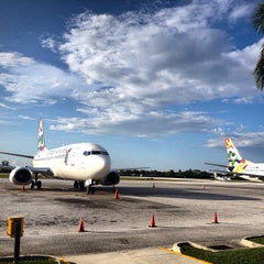 Photo taken at Owen Roberts International Airport (GCM) by Fred Y. on 10/23/2013