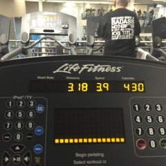 Photo taken at LA Fitness by Mario B. on 1/26/2015