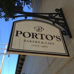 Photo taken at Porto's Bakery & Cafe by Bill K. on 1/13/2013
