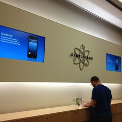 Photo taken at Apple Store, Cherry Creek by Dominique M. on 6/15/2013