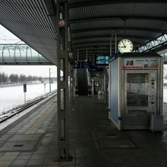 Photo taken at S Flughafen Besucherpark by Sebastian on 1/28/2013