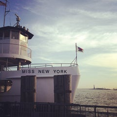 Photo taken at Miss New York Ferry by Sarah H. on 6/1/2013