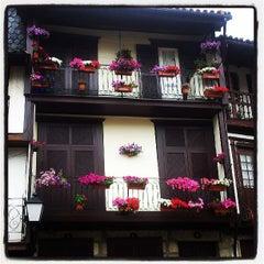 Photo taken at Muralhas da Cidade de Guimarães by Dora B. on 6/9/2013