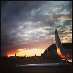 Photo taken at Boeing Field/King County International Airport (BFI) by Jonathan I. on 7/5/2013