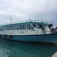 Photo taken at Thilafushi ferry terminal- Thilafushi by Ali R. on 8/4/2014