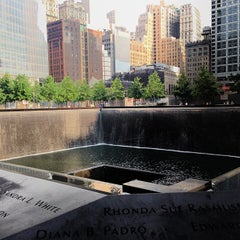 Photo taken at National September 11 Memorial & Museum by Alejandro R. on 6/25/2013