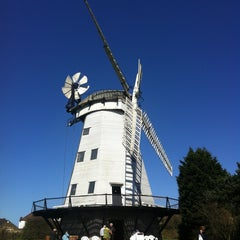 Photo taken at Upminster Windmill by Sarah O. on 4/20/2013