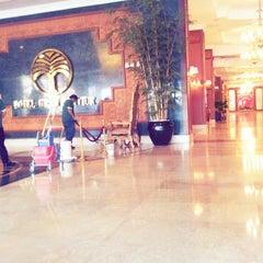Photo taken at Gran Senyiur Hotel by Iqbal A. on 12/25/2012