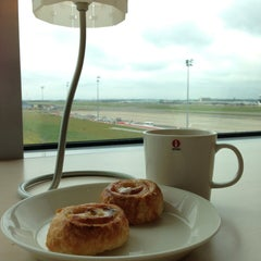 Photo taken at Brussels Airlines Business Lounge by Mike S. on 6/24/2013