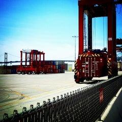 Photo taken at TraPac Dock by Jake G. on 8/2/2014